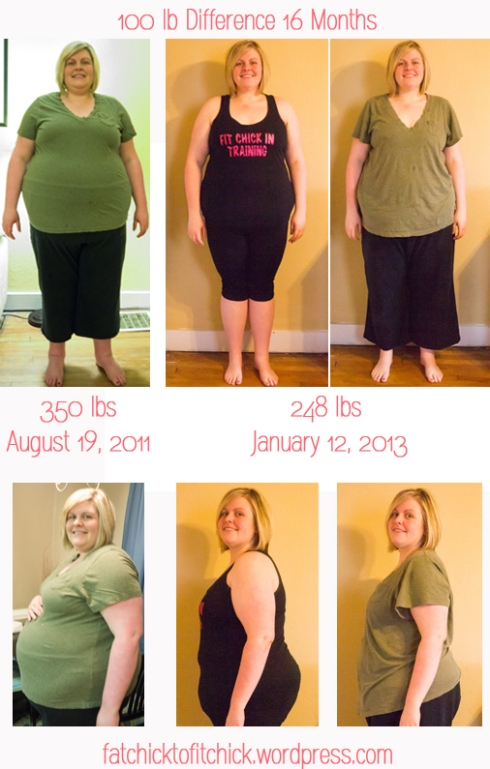100 lb difference