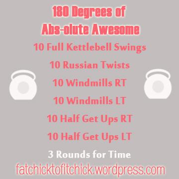 180 Degree Ab WOD