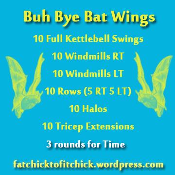 Bat Wing WOD